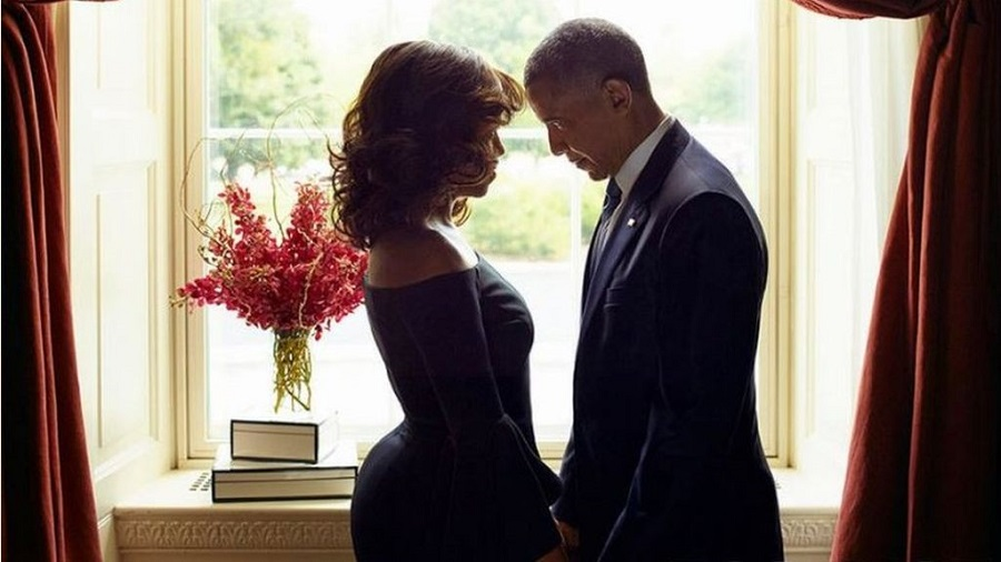 Obama and His First Lady