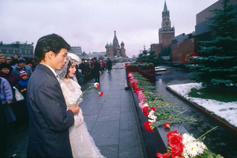 A solemn wedding