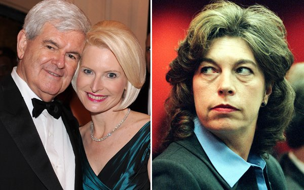 Newt Gingrich and Marianne Gingrich