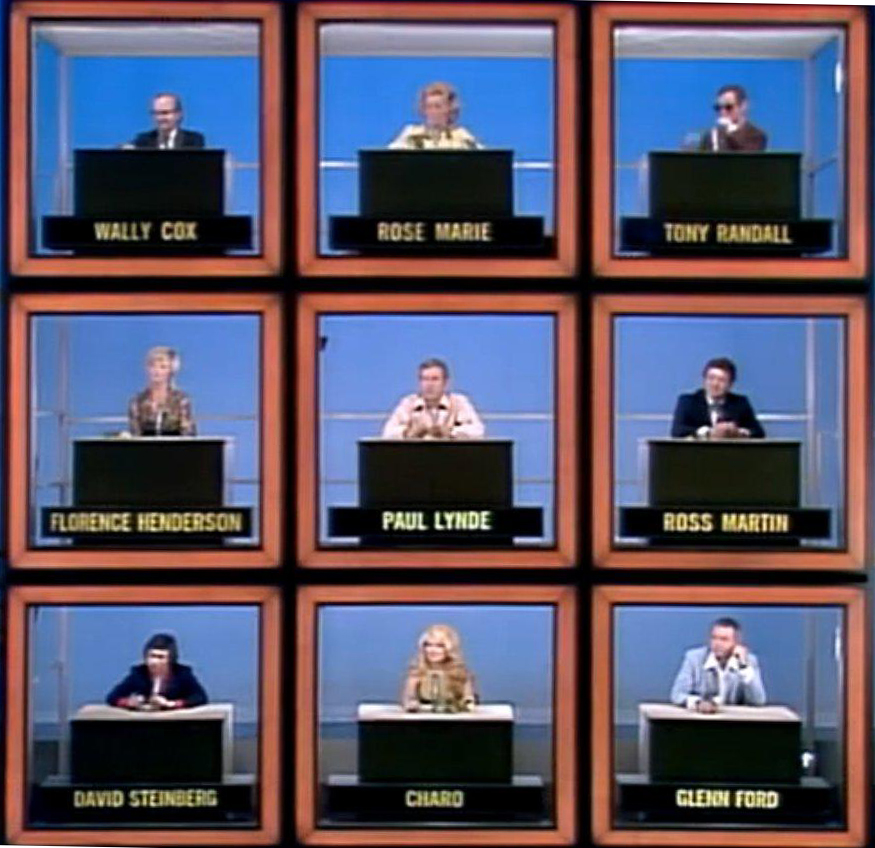 Nighttime Hollywood Squares (1968)