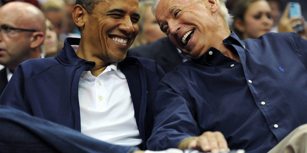 Barack and Joe: Bromance