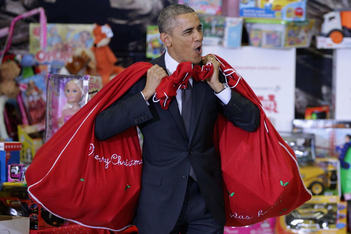 Obama Is Santa?!
