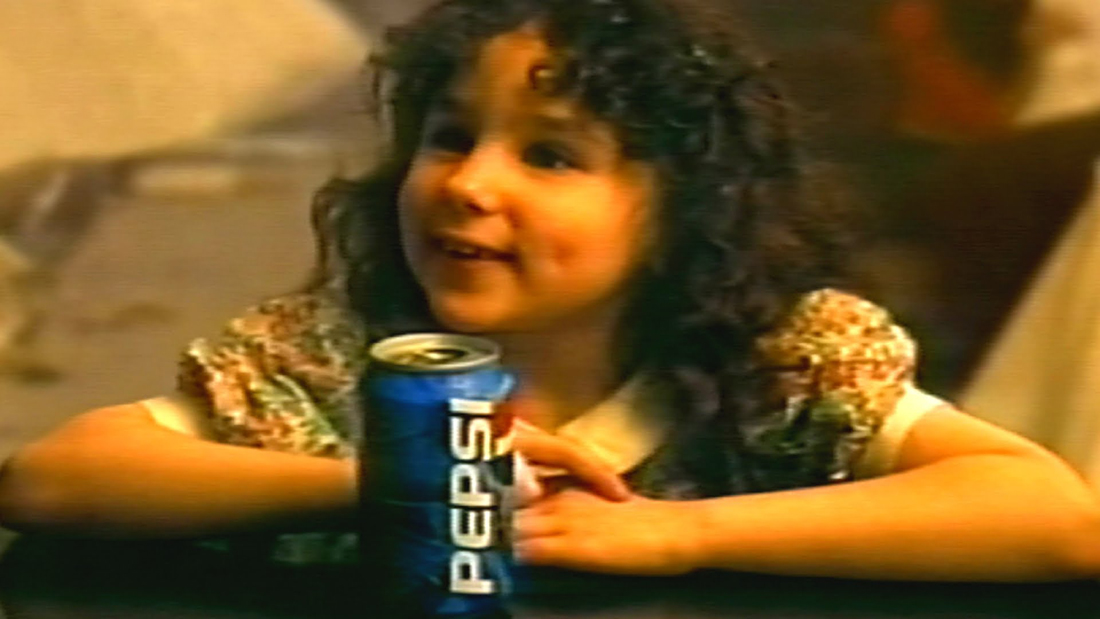 The Little Girl in the Pepsi Commercials Was a Hit