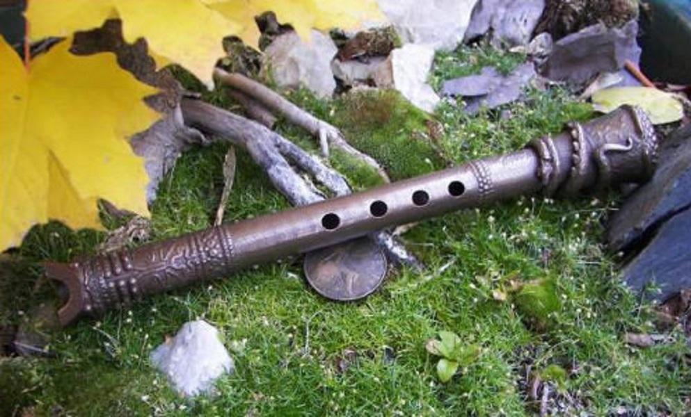 A Shakuhachi Flute