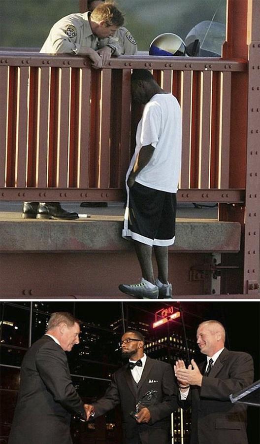 Cop and Suicidal Man