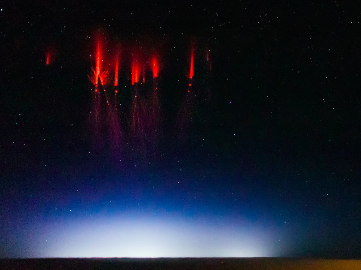 Red Sprites and Blue Jets