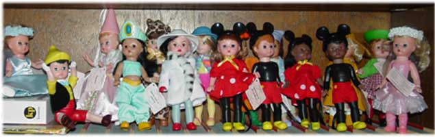 Madame Alexander Disney Dolls