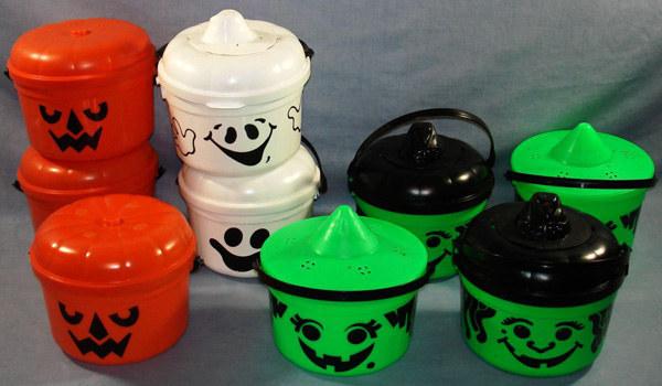 Halloween Buckets