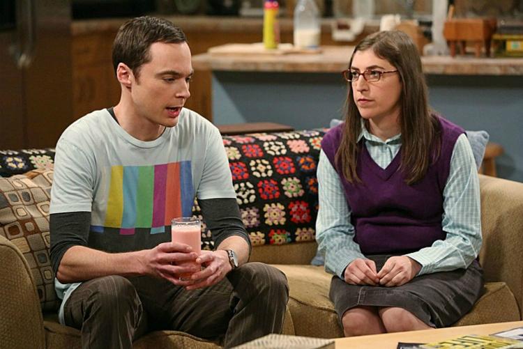 Sheldon Cooper and Amy Farrahfowler