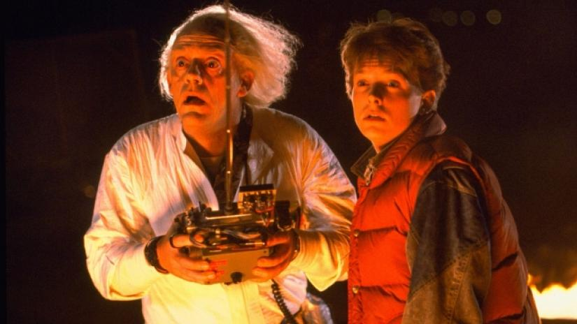 Doc Brown and Marty McFly