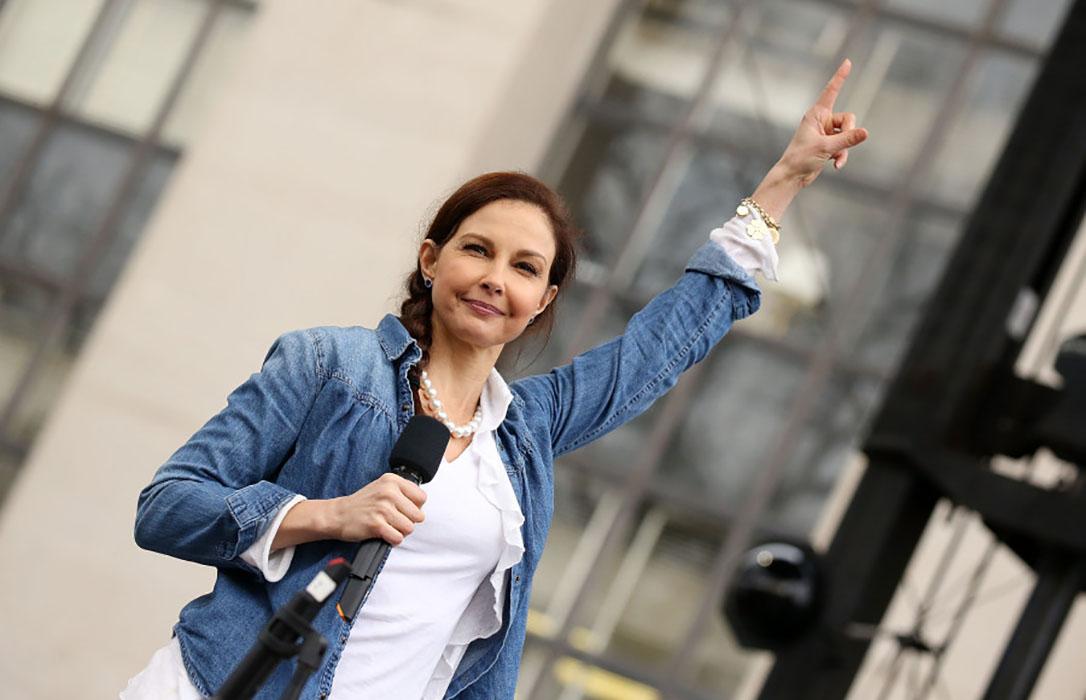 Ashley Judd Recites 'Nasty Woman'