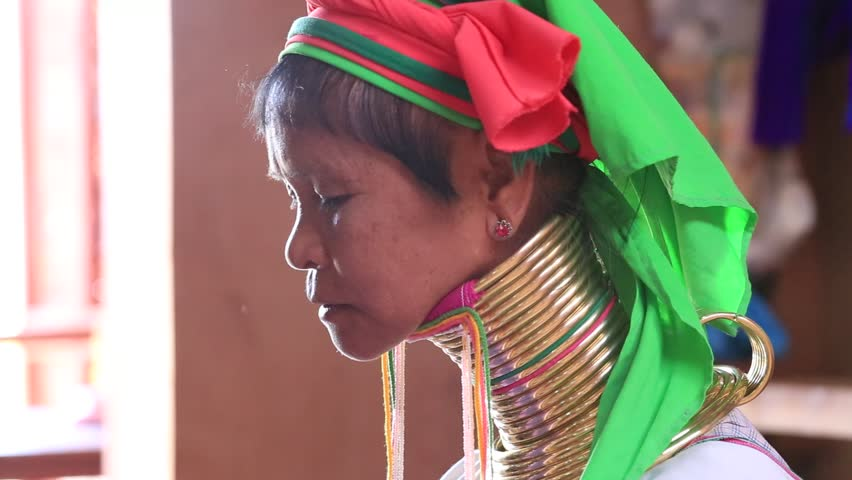 Burma and the Long-Necked Women