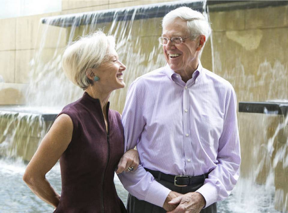 Charles and Elizabeth Koch – $47.4 Billion