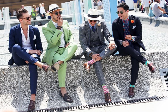 Italy—Capitol of Men's Fashion