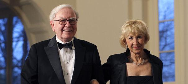 Warren Buffett and Astrid Menks – $65 Billion