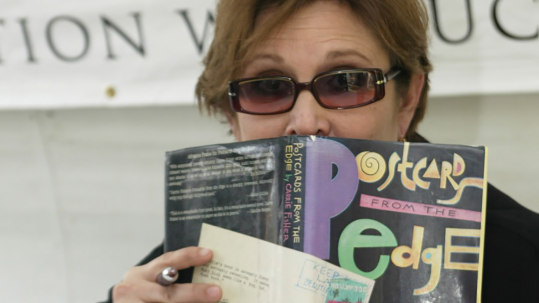 Carrie Fisher Was an Acclaimed Author