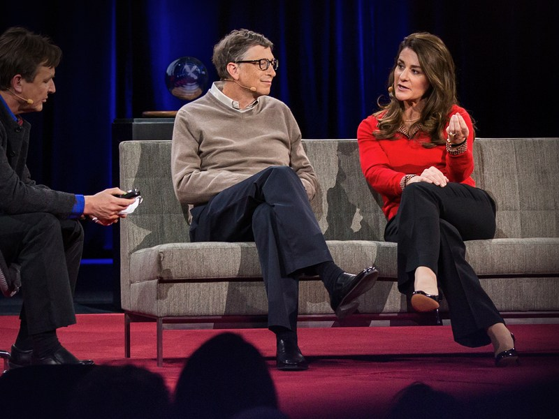 Bill and Melinda Gates – $85.7 Billion