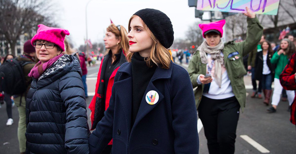Emma Watson In DC's Positive Vibe