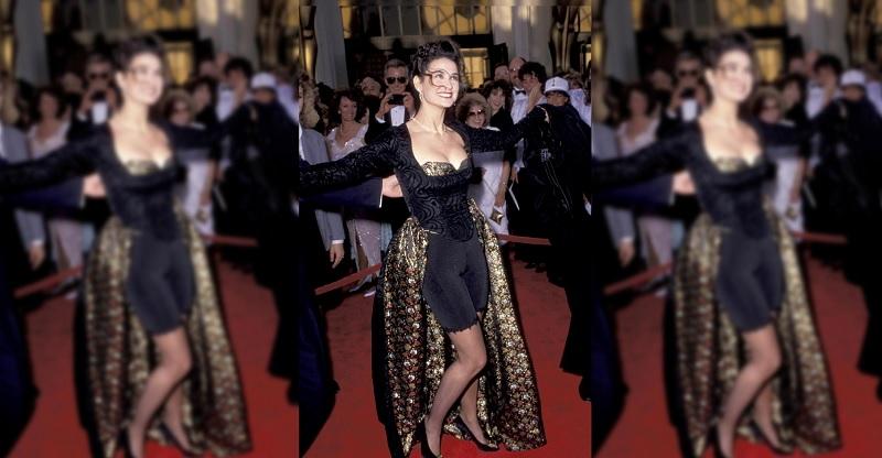 Demi Moore's 1989 Oscar Dress