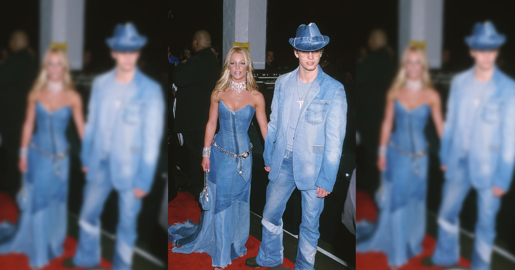 Justin and Britney's Double Denim Moment