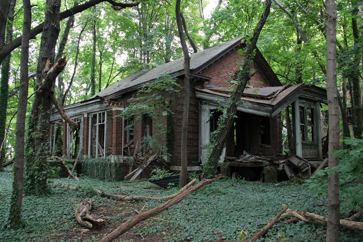 Abandoned North Brother Island, New York City