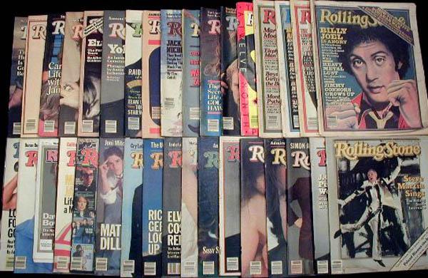 Resultado de imagen para rolling stone magazine collection