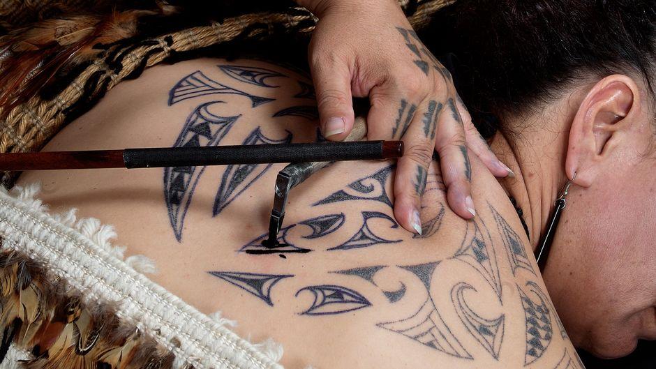 Māori Tattooing