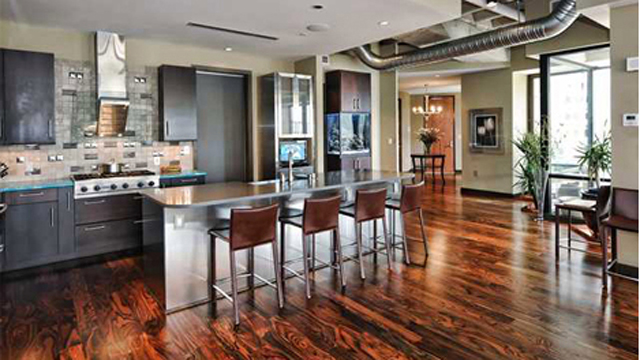 His Condo In Charlotte Is Prime