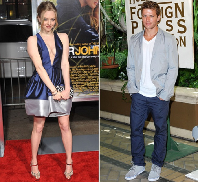 Amanda Seyfried and Ryan Phillippe