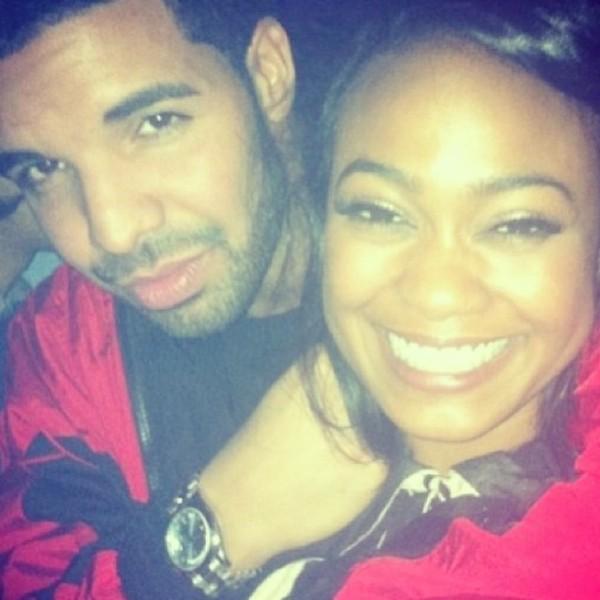 Drake and Tatyana Ali