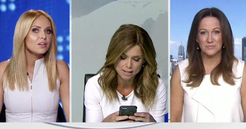 Aussie Reporters Fight Over Wardrobe