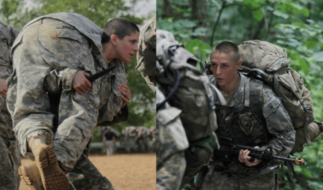 First Ever Female Navy SEAL Candidates