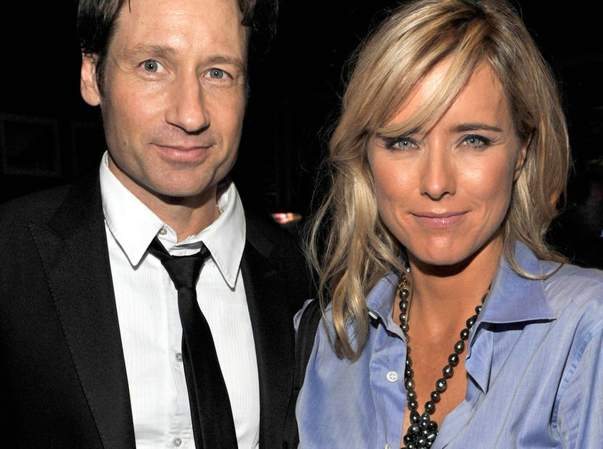 Duchovny's Marriage To Téa Leoni