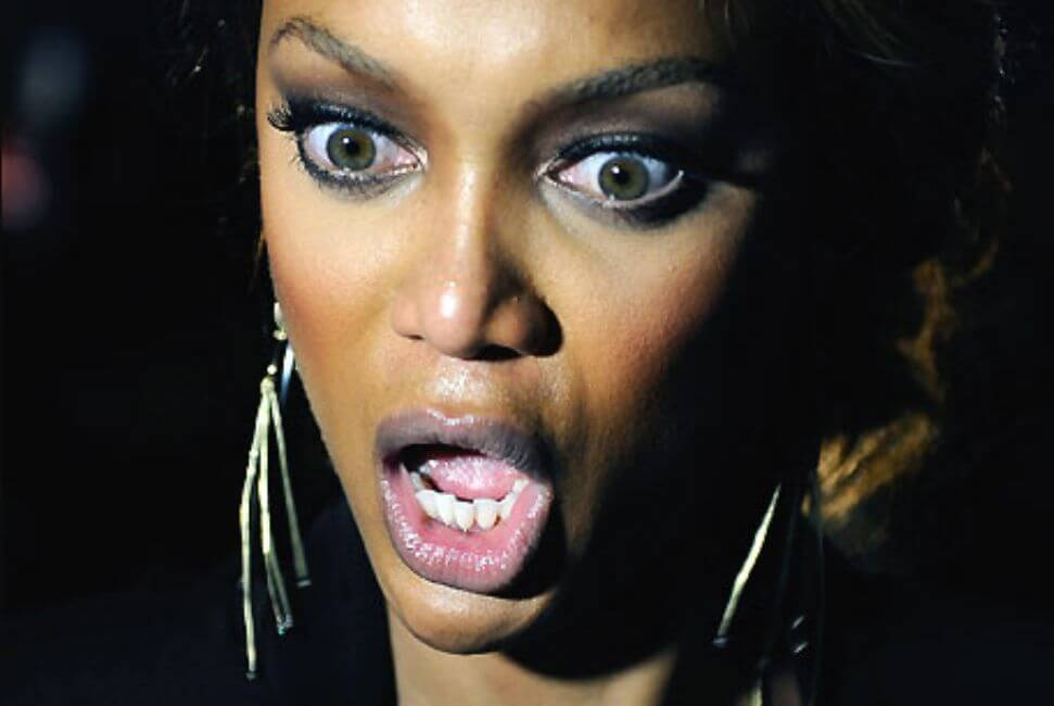 Tyra Banks is Accused of Working Her Way to the Top