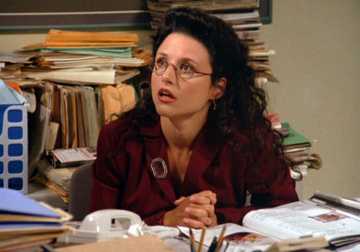 Julia Louis-Dreyfus as Elaine