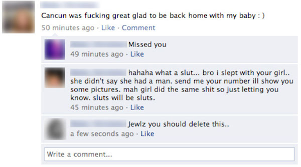 Why You Don't Cheat On Your Boyfriend with His Facebook Friends