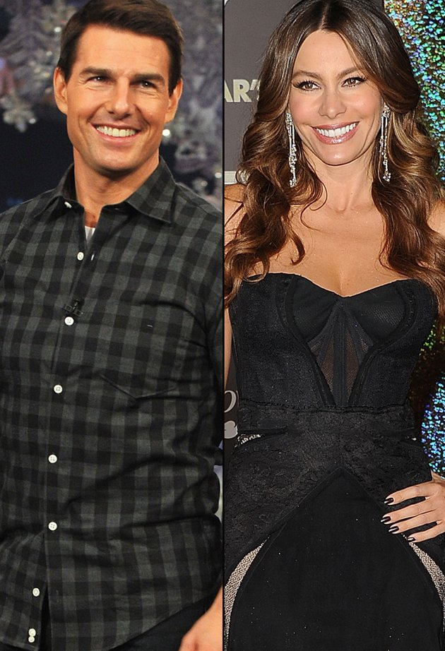 Tom Cruise and Sofia Vergara