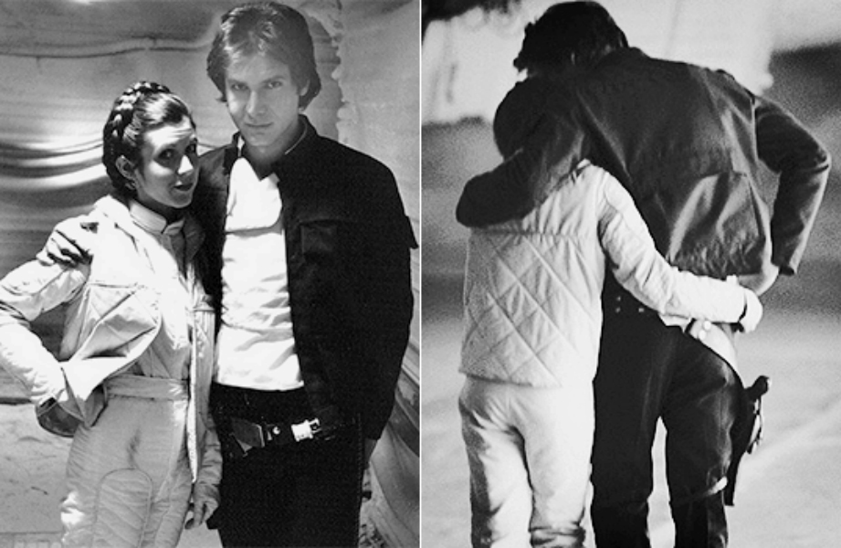 Carrie Fisher Kisses and Tells