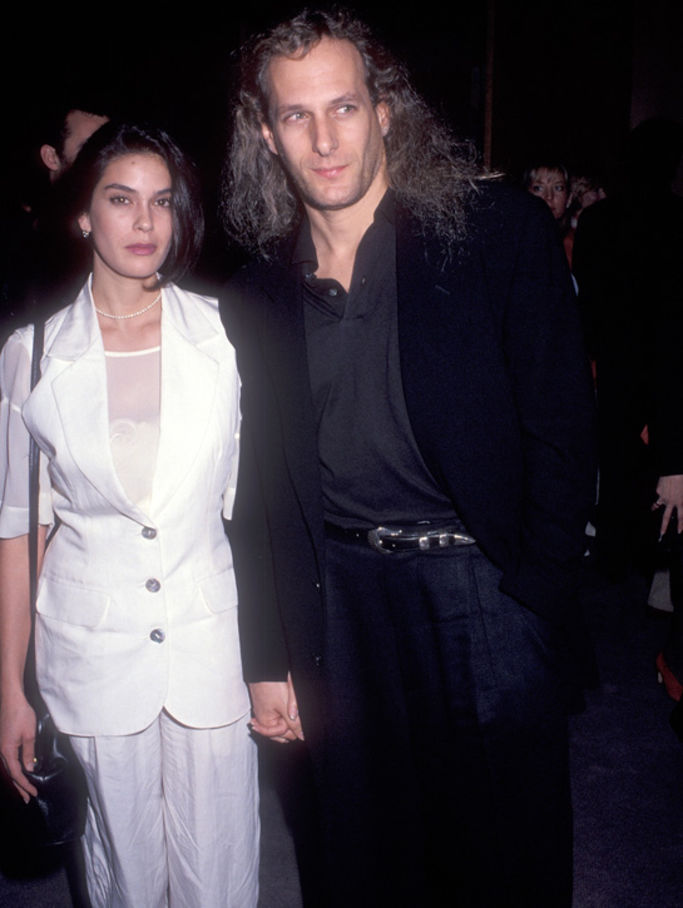 Teri Hatcher and Michael Bolton