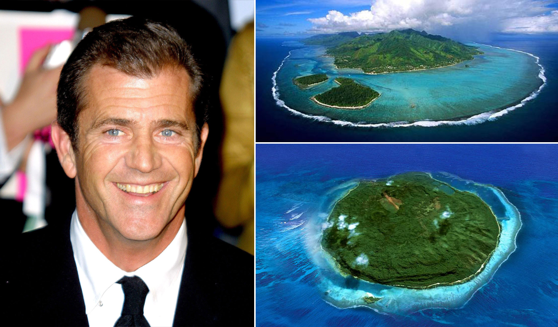 Mel Gibson – Mago Island