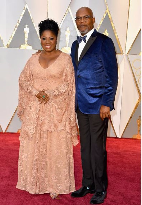 Sam Jackson and LaTanya Richardson