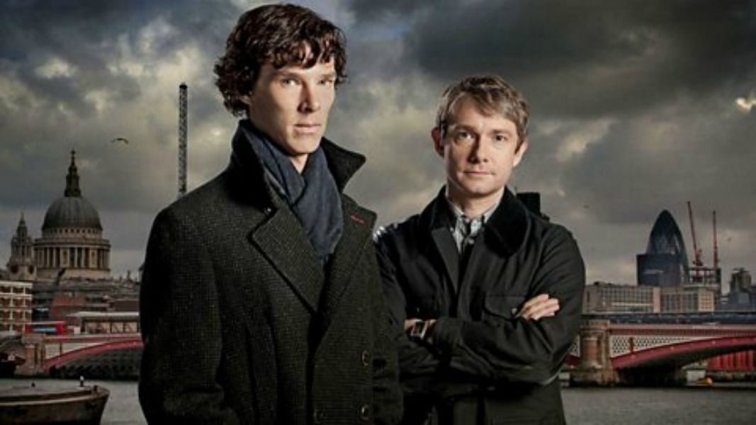 The Setting of Sherlock Then and Now