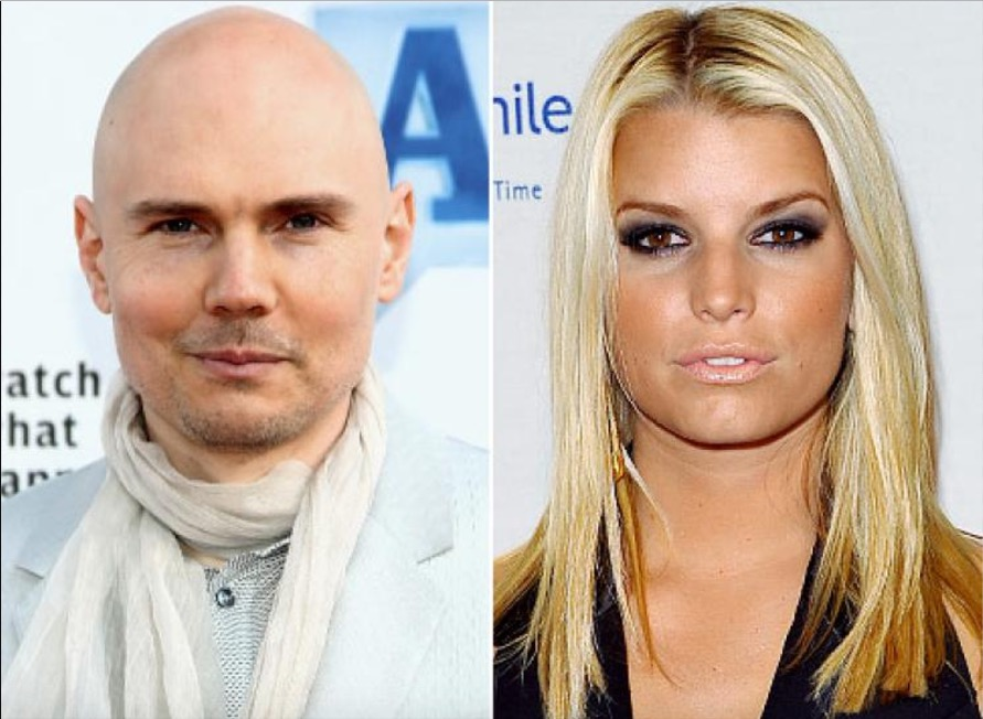Jessica Simpson and Billy Corgan