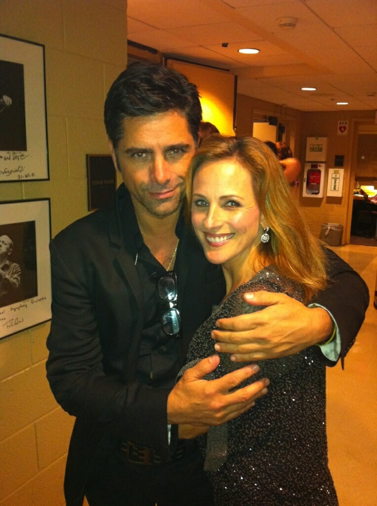 John Stamos and Marlee Matlin