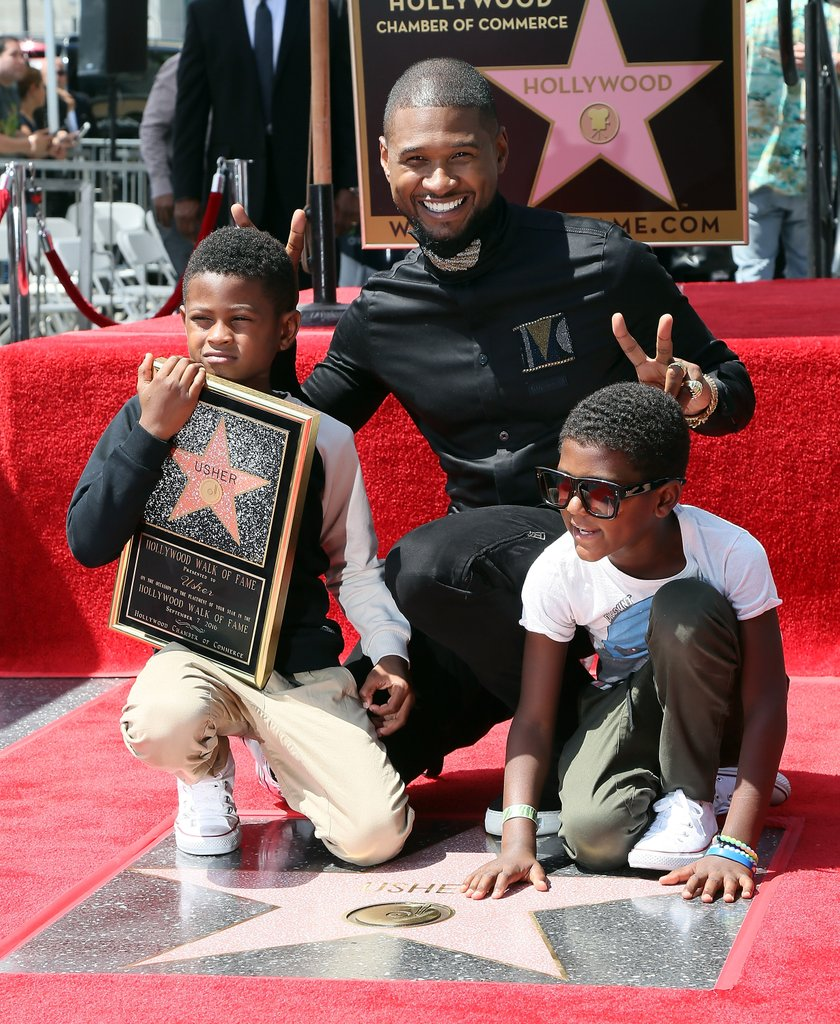 Usher and His Two Sons