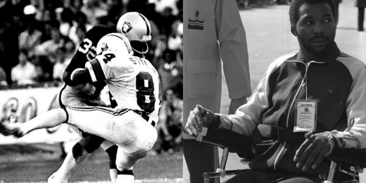 Darryl Stingley Forced into a Wheelchair