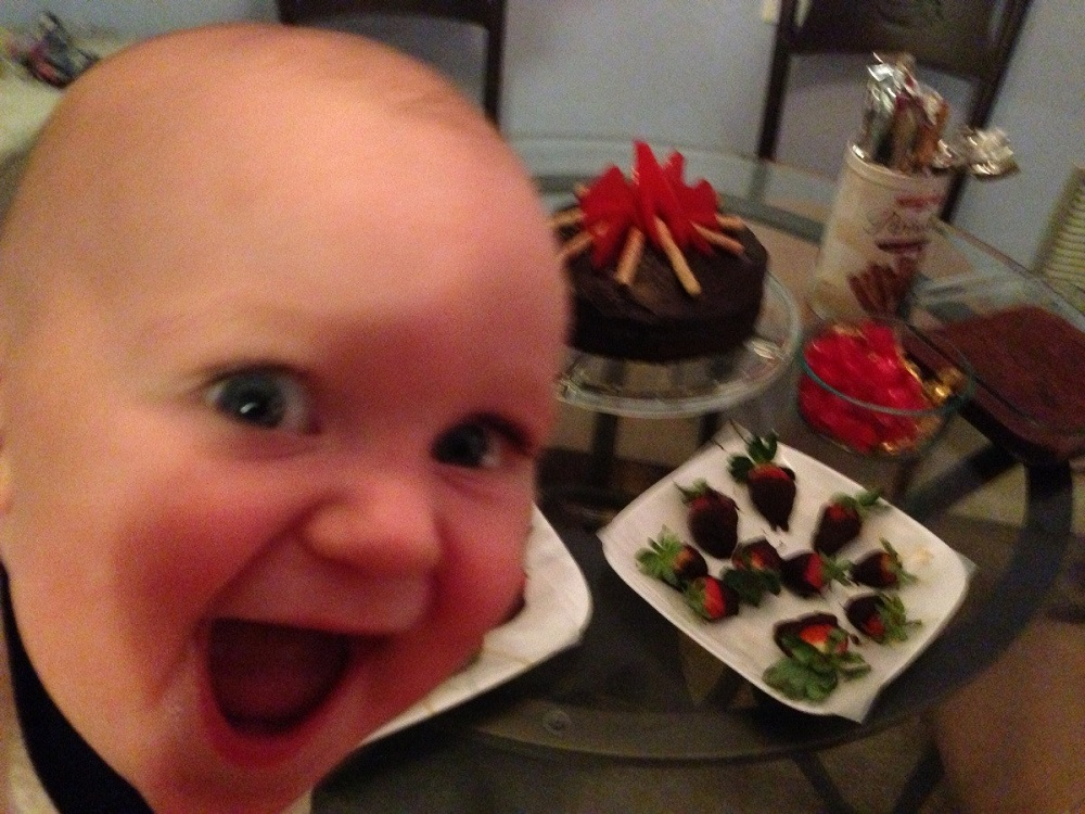 Baby's First Photobomb