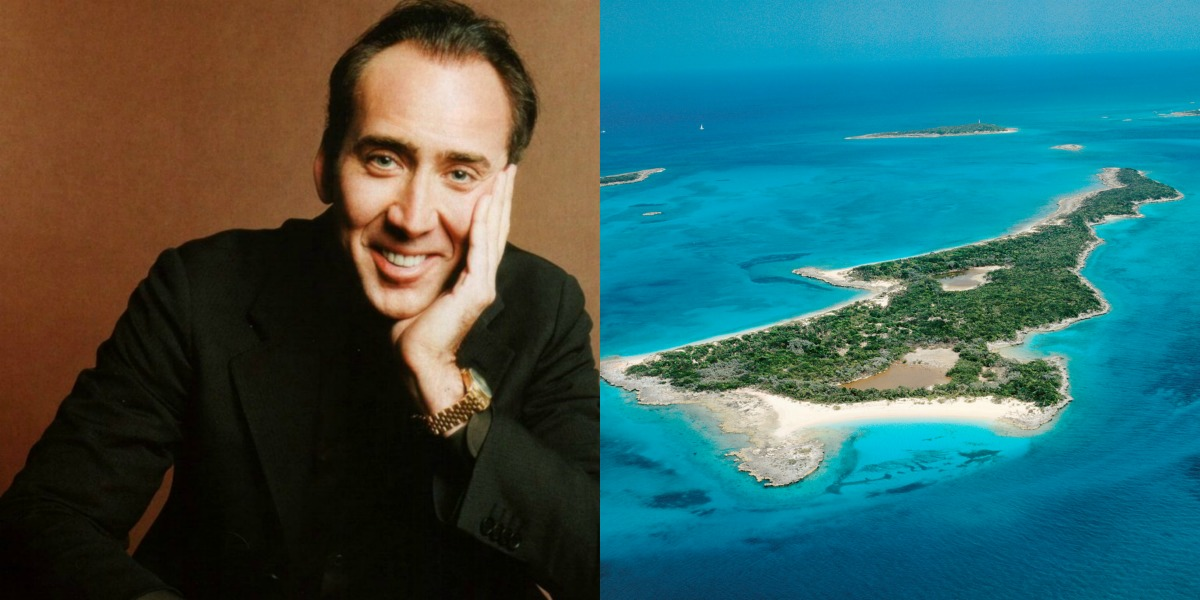 Nicolas Cage and Leaf Cay
