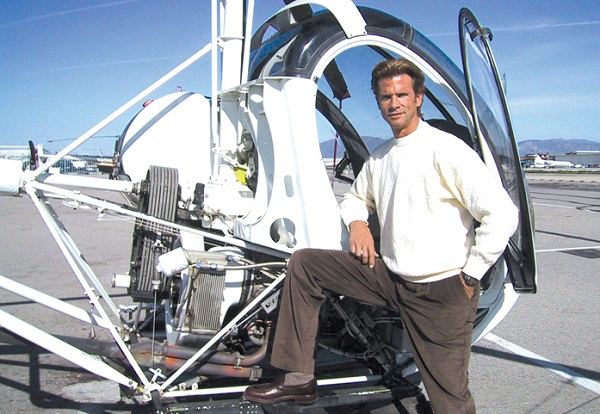Lorenzo Lamas: Bad Boy of Television Flies Helicopters