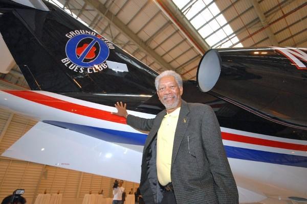 Morgan Freeman: Serious Actor and Serious Pilot